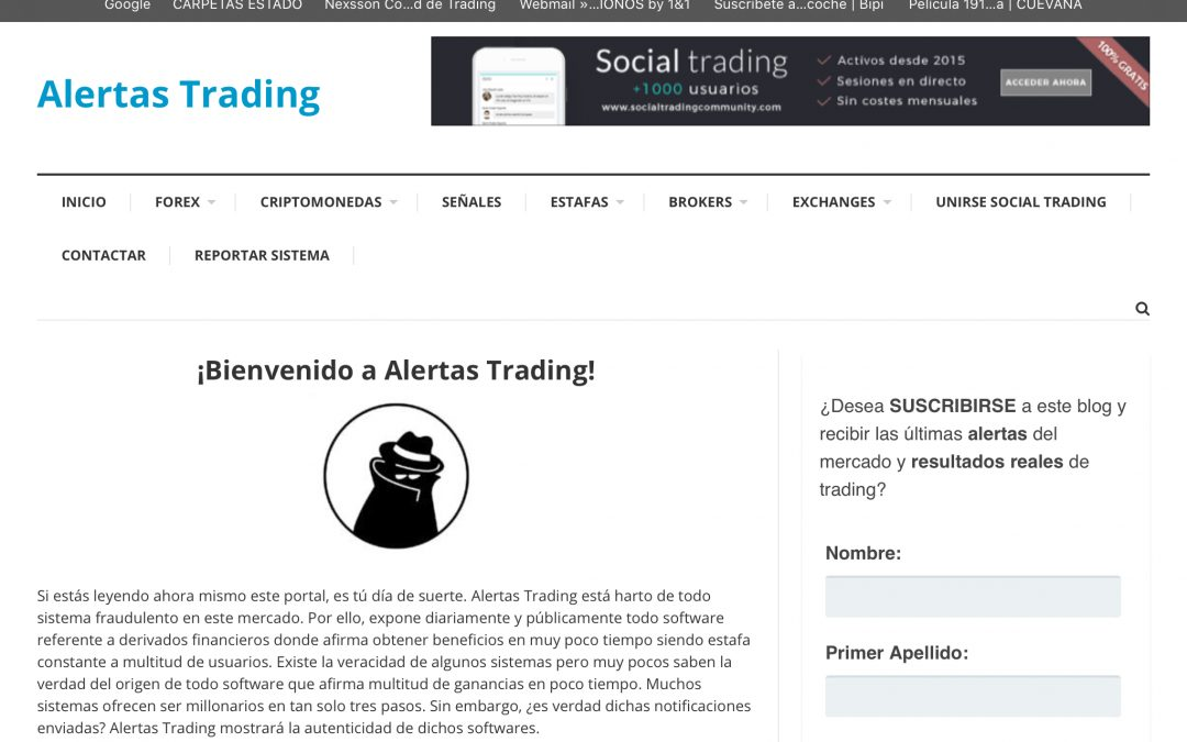 Alertastrading.com = ESTAFA