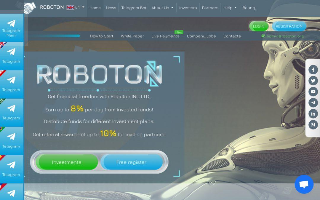 Roboton, la nueva web para que te roben un montón, jajajajaja
