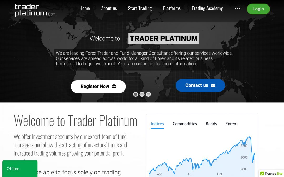 Traderplatinum.com, otro broker estafa