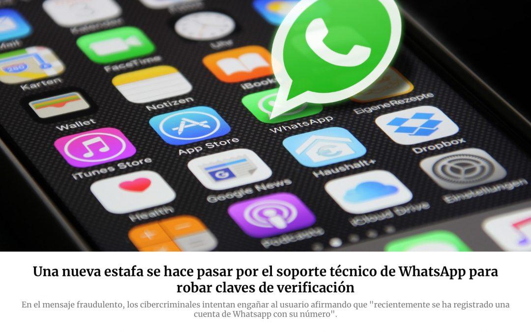 Nueva estafa, esta vez por WhatsApp.