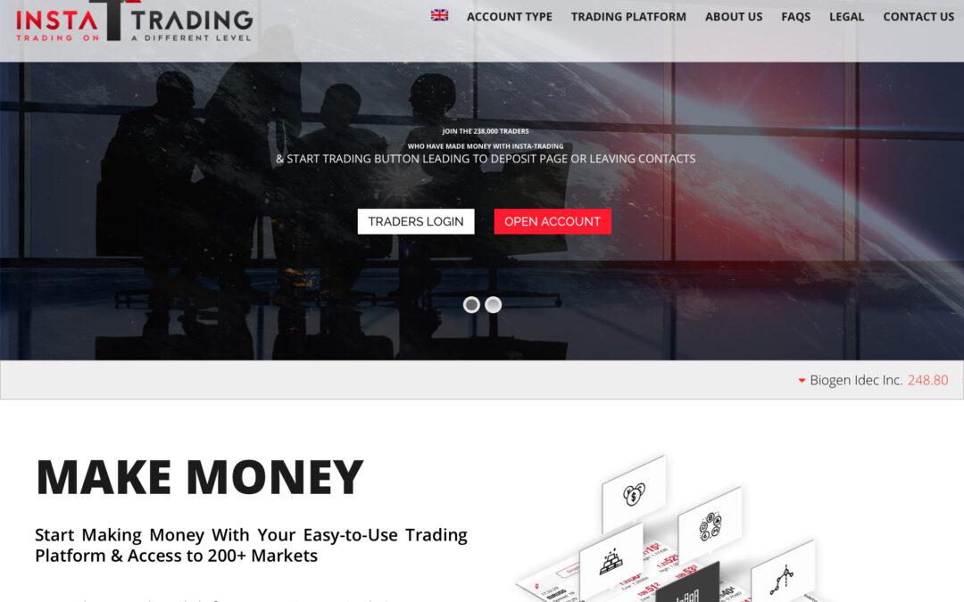 www.insta-trading.com, web scam de trading.